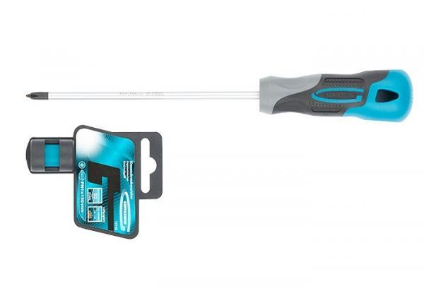 Отвертка PH1 x 150 мм, S2, трехкомпонентная ручка. GROSS