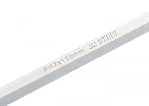 Отвертка PH2 x 150 мм, S2, трехкомпонентная ручка. GROSS