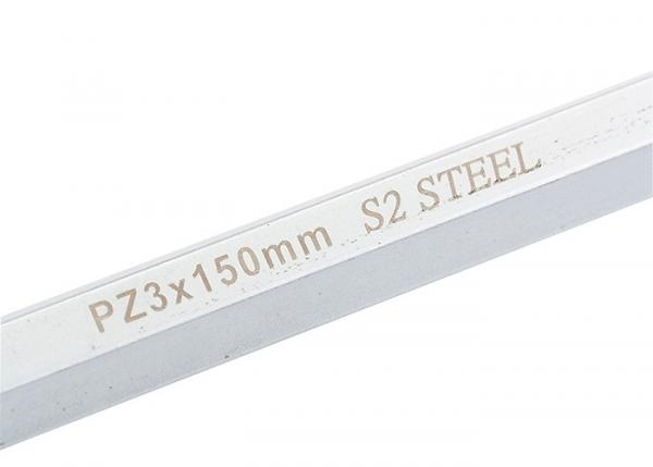 Отвертка PZ3 x 150 мм,  S2, трехкомпонентная ручка. GROSS